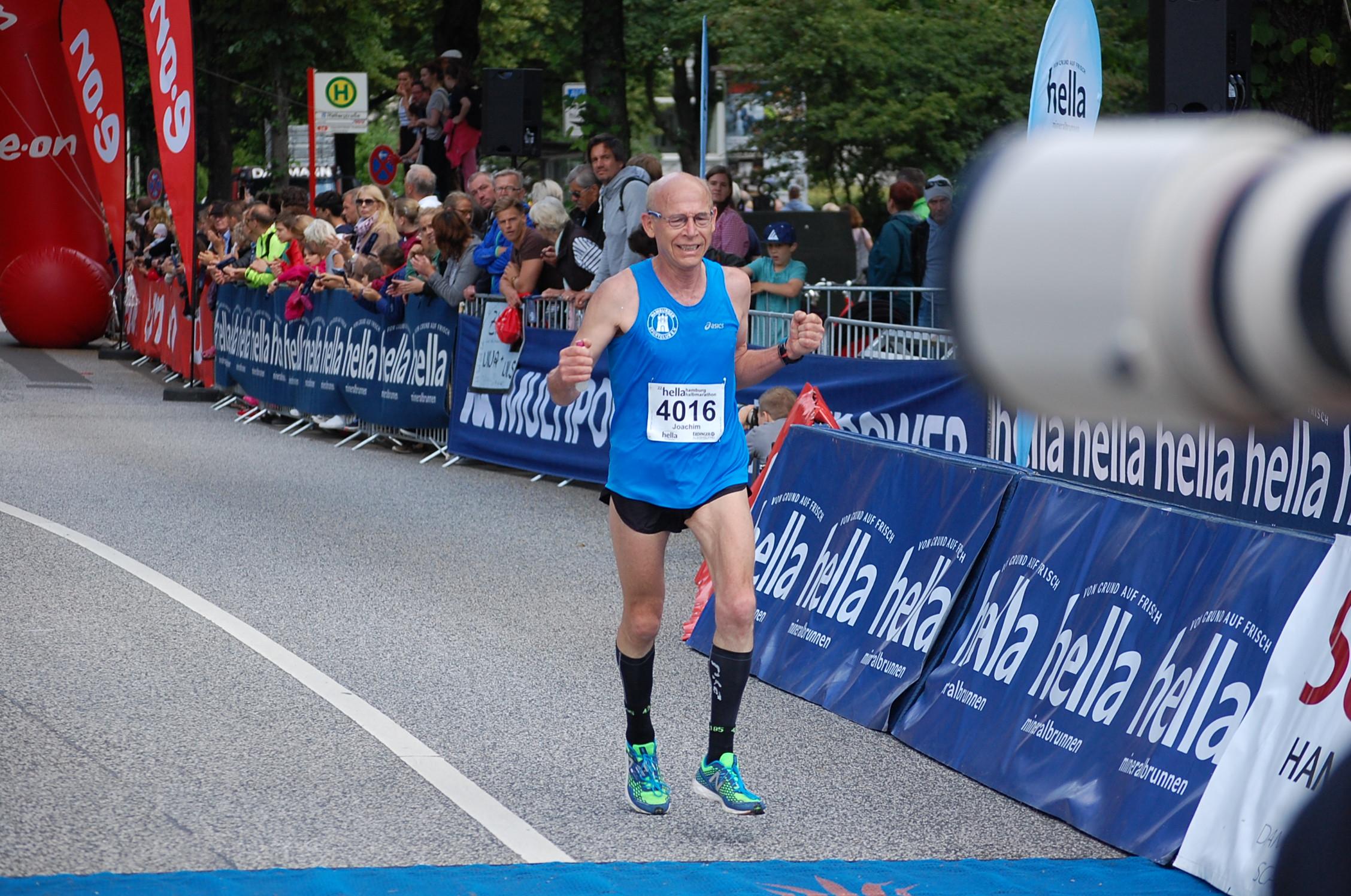 22. hella Halbmarathon: Zieleinläufe von der schnellsten Hamburgerin bis 1:33